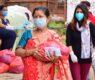 आधार नेपालको फुड बैंकद्वारा श्रमिकहरुलाई खाद्यान्न वितरण